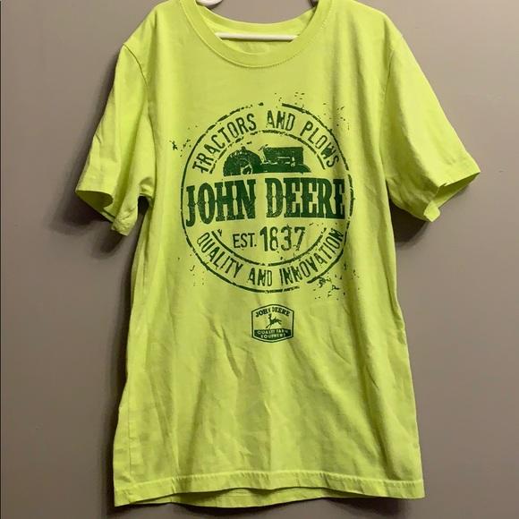 John Deere T-shirt medium kids